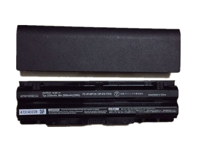 Notebook Batteria PC-VP-WP135