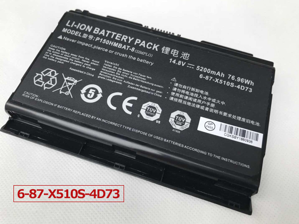 Notebook Batteria 6-87-X510S-4D73