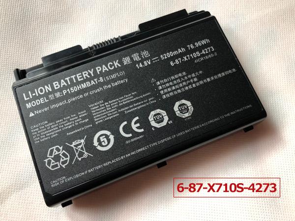Notebook Batteria P150HMBAT-8