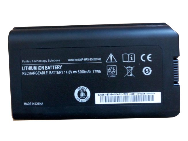 Notebook Batteria SMP-MFS-SS-26C-08