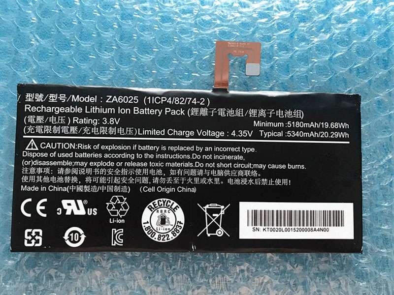 Batteria tablet ZA6025