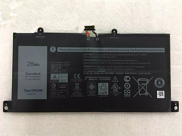 Notebook Batteria 1MCXM