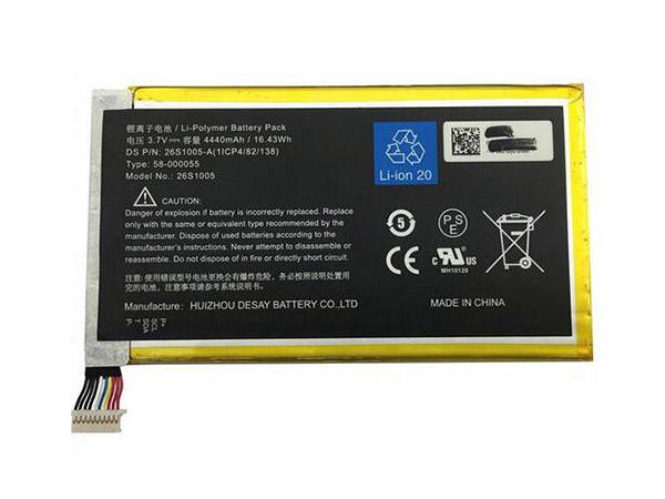 Batteria tablet 26S1005