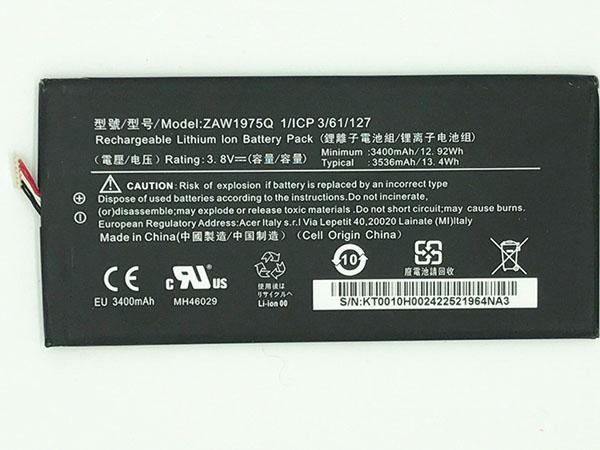 Batteria tablet ZAW1975Q
