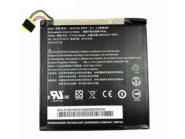 Batteria tablet 30107108
