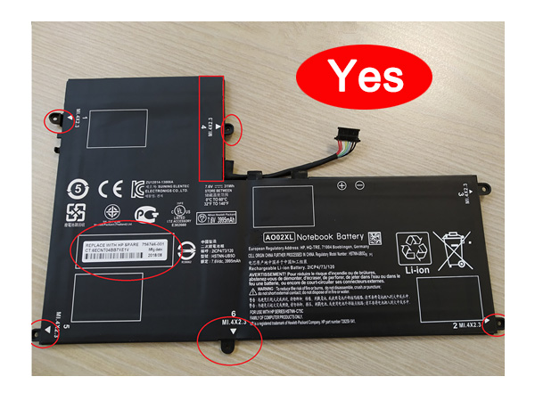 Notebook Batteria AO02XL