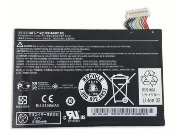 Batteria tablet BAT-714
