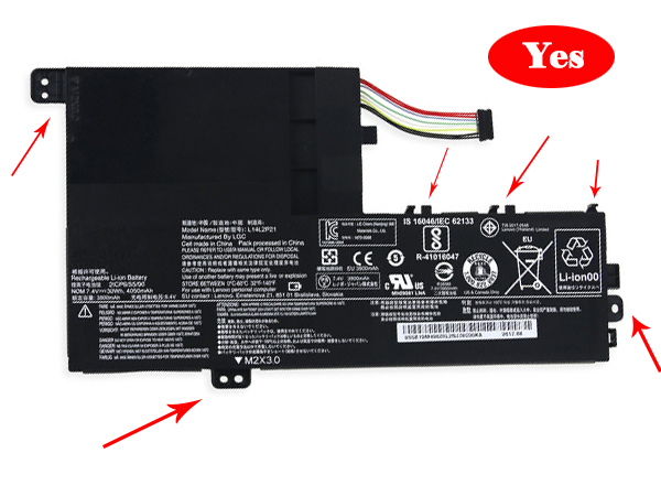 Batteria tablet L15L3PB0