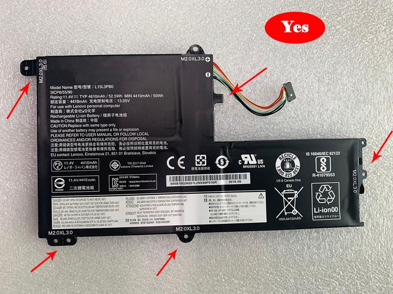 Notebook Batteria L15C3PB1