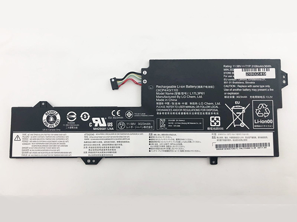 Notebook Batteria L17L3P61