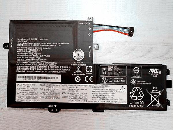 Notebook Batteria L18M3PF7