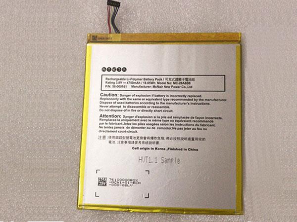 Batteria tablet 58-000161