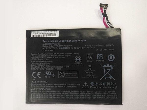 Batteria tablet MLP3810980