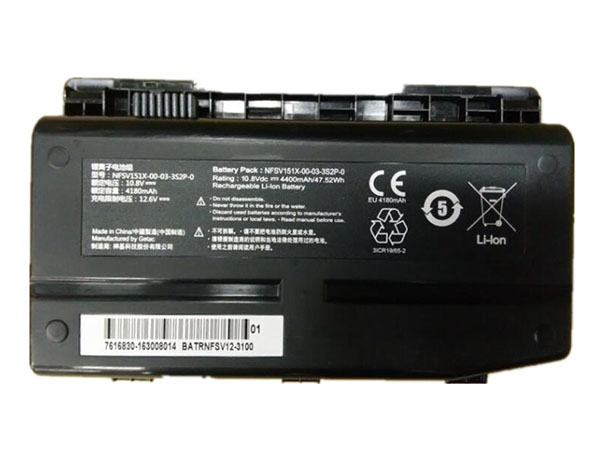 Notebook Batteria NFSV151X-00-03-3S2P-0