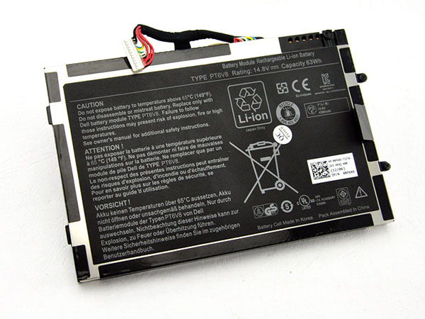 Notebook Batteria PT6V8