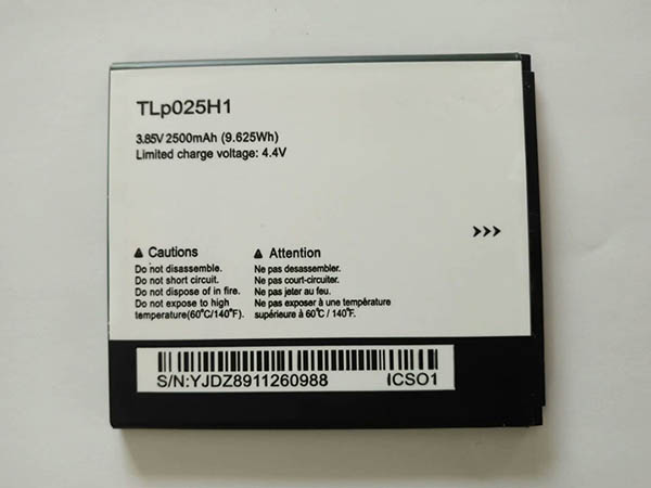 BATTERIE CELLULARI TLP025H1