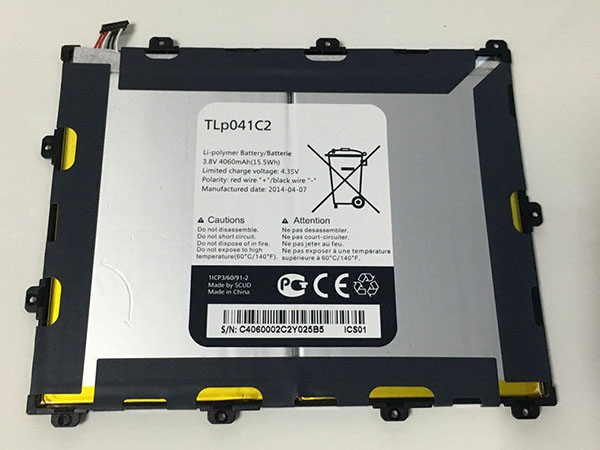 Batteria tablet TLP041C2