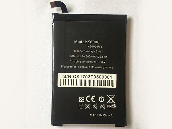 BATTERIE CELLULARI K6000